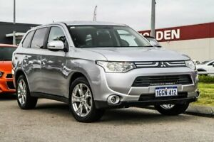 2013 Mitsubishi Outlander ZJ MY13 Aspire 4WD Silver 6 Speed Sports Automatic Wagon Rockingham Rockingham Area Preview