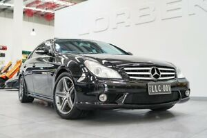 2007 Mercedes-Benz CLS63 219 AMG Obsidian Black 7 Speed Automatic G-Tronic Coupe Port Melbourne Port Phillip Preview