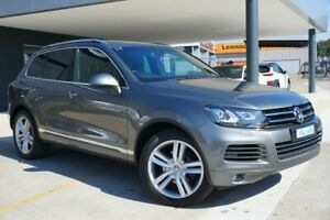 2014 Volkswagen Touareg 7P MY14 V6 TDI Tiptronic 4XMotion Grey 8 Speed Sports Automatic Wagon Pearce Woden Valley Preview
