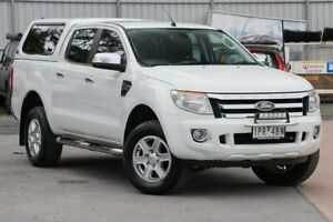 2015 Ford Ranger PX XLT Double Cab White 6 Speed Sports Automatic Utility Ferntree Gully Knox Area Preview