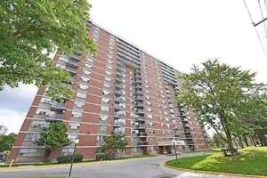 Absolutely Gorgeous 2 Bedrooms Condo Located At Kipling Ave