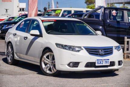 2012 Honda Accord 10 MY13 Euro Luxury Navi White 5 Speed Automatic Sedan