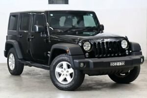 2016 Jeep Wrangler JK MY2016 Unlimited Sport Black 5 Speed Automatic Softtop Darlinghurst Inner Sydney Preview