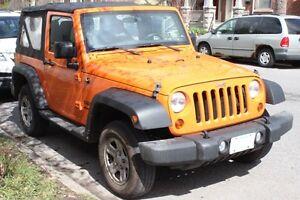 Fantastic Condition: 2013 Jeep Wrangler Soft Top Convertible