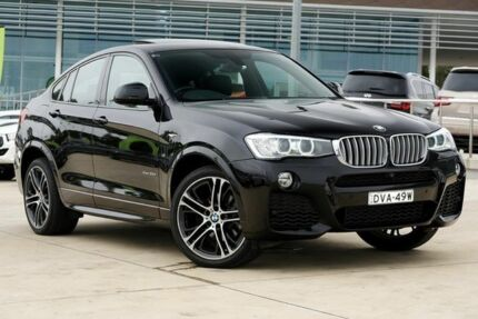 2015 BMW X4 F26 xDrive35d Coupe Steptronic Black 8 Speed Automatic Wagon Castle Hill The Hills District Preview