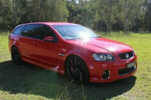 2012 Holden Commodore VE II MY12.5 SS V Sportwagon Z Series Red 6 Speed Manual Wagon Ormeau Gold Coast North Preview