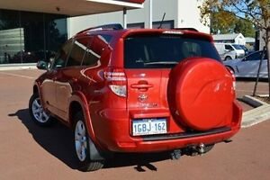 2009 Toyota RAV4 GSA33R MY09 SX6 Red 5 Speed Automatic Wagon Gosnells Gosnells Area Preview