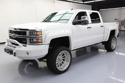 2014 CHEVY SILVERADO LT CREW Z71 4X4 LIFTED 22'S 43K MI #156781 Texas Direct