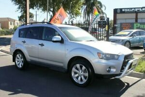 2010 Mitsubishi Outlander ZH MY10 Activ Silver 6 Speed CVT Auto Sequential Wagon Klemzig Port Adelaide Area Preview