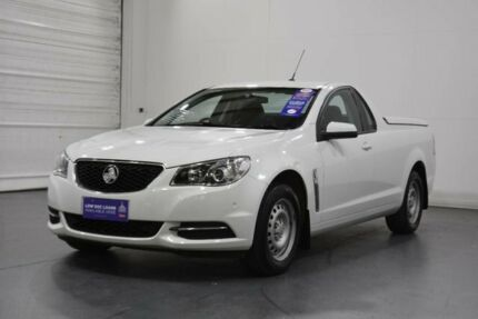 2015 Holden Ute VF II SV6 White 6 Speed Automatic Utility Oakleigh Monash Area Preview