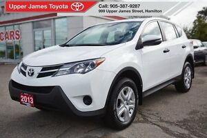2013 Toyota RAV4 LE FWD - Serviced at the dealership.