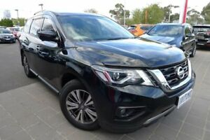 2018 Nissan Pathfinder R52 Series II MY17 ST-L X-tronic 2WD Black 1 Speed Constant Variable Wagon Hoppers Crossing Wyndham Area Preview