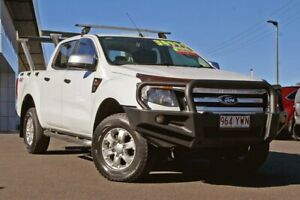 2014 Ford Ranger PX XLS Double Cab White 6 Speed Sports Automatic Utility Monkland Gympie Area Preview