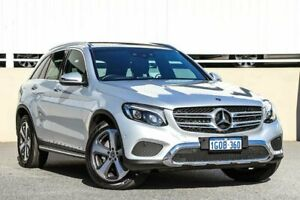 2018 Mercedes-Benz GLC220 X253 808MY d 9G-Tronic 4MATIC Silver Sports Automatic Wagon Cannington Canning Area Preview
