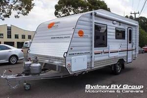 2016 Nova BEST SELLING MetroLink 16ft6 with Island Bed - C774 Penrith Penrith Area Preview