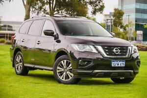 2017 Nissan Pathfinder R52 Series II MY17 ST X-tronic 2WD Black 1 Speed Constant Variable Wagon Burswood Victoria Park Area Preview