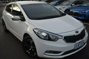 2013 Kia Cerato YD MY14 S White 6 Speed Manual Hatchback Mill Park Whittlesea Area Preview