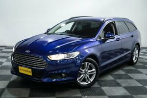 2015 Ford Mondeo MD Ambiente PwrShift Blue 6 Speed Sports Automatic Dual Clutch Wagon Edgewater Joondalup Area Preview