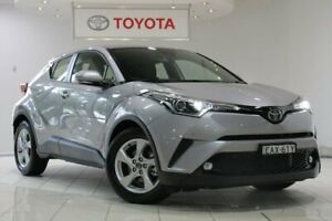 2018 Toyota C-HR NGX10R S-CVT 2WD Silver 7 Speed Constant Variable Wagon Waterloo Inner Sydney Preview