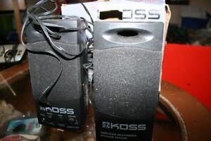 Computer Stereo Speakers. Like new in original package.