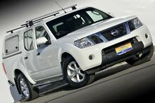 2012 Nissan Navara D40 S6 MY12 ST 4x2 White 5 Speed Sports Automatic Utility Ferntree Gully Knox Area Preview