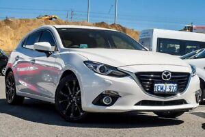 2014 Mazda 3 BM5438 SP25 SKYACTIV-Drive GT White 6 Speed Sports Automatic Hatchback Osborne Park Stirling Area Preview