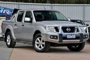 2014 Nissan Navara D40 S5 MY12 ST-X 550 Silver 7 Speed Sports Automatic Utility Ferntree Gully Knox Area Preview