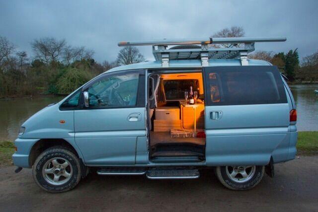 Mitsubishi Delica Camper Great Alternative To Vw T5