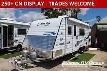 A30446 2015 New Age Manta Ray 19BC Family Van, Triple Bunks Penrith Penrith Area Preview