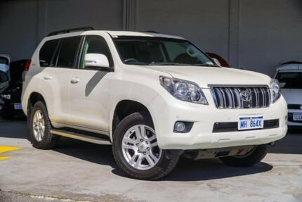 2009 Toyota Landcruiser Prado KDJ150R Kakadu White 5 Speed Sports Automatic Wagon Myaree Melville Area Preview