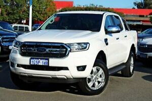 2019 Ford Ranger PX MkIII 2019.00MY XLT Pick-up Double Cab White 6 Speed Sports Automatic Utility Midland Swan Area Preview