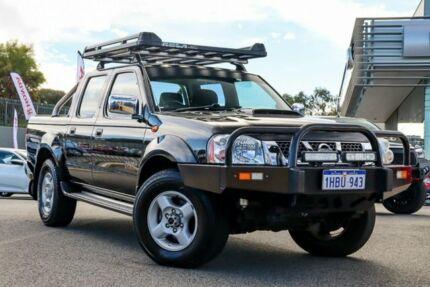 2014 Nissan Navara D22 Series 5 ST-R (4x4) Black 5 Speed Manual Dual Cab Pick-up Wangara Wanneroo Area Preview