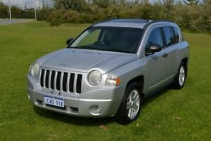2008 Jeep Compass MK Sport Silver Continuous Variable Wagon Rockingham Rockingham Area Preview