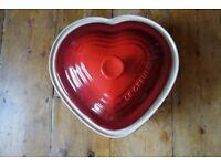 2.4L Heart Le Creuset Casserole Dish