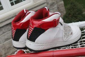 Jordan Nike Air basketball training shoes size US 12 UK 11Can