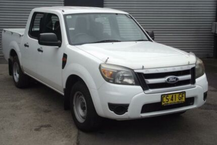 2009 Ford Ranger PK XL (4x2) White 5 Speed Automatic Dual Cab Pick-up Riverstone Blacktown Area Preview