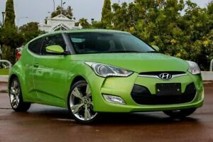 2012 Hyundai Veloster FS2 Coupe D-CT Green 6 Speed Sports Automatic Dual Clutch Hatchback Cannington Canning Area Preview