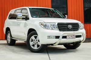 2011 Toyota Landcruiser VDJ200R MY10 Altitude White 6 Speed Automatic Wagon Molendinar Gold Coast City Preview