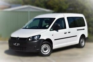 2015 Volkswagen Caddy 2KN MY15 TDI250 BlueMOTION Crewvan Maxi DSG White 7 Speed Berwick Casey Area Preview