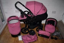 travel system seldom used Colour pink