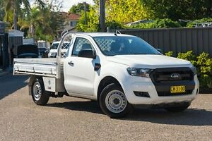 2016 Ford Ranger PX MkII XL 4x2 White 6 Speed Manual Cab Chassis Greenacre Bankstown Area Preview