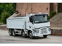 WANTED CLASS 2 HGV TIPPER DRIVER BASED IN EAST AND WEST MIDLANDS