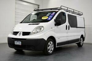 2012 Renault Trafic L2H1 2.0 DCI LWB White 6 Speed Automatic Van