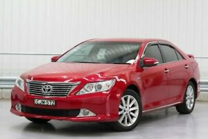 2012 Toyota Aurion GSV50R Prodigy Red 6 Speed Sports Automatic Sedan Parramatta Parramatta Area Preview