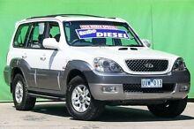 2006 Hyundai Terracan CRDi White 4 Speed Automatic Wagon Ringwood East Maroondah Area Preview