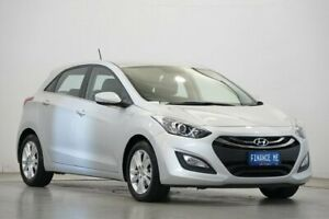 2013 Hyundai i30 GD MY14 Elite Sleek Silver 6 Speed Sports Automatic Hatchback