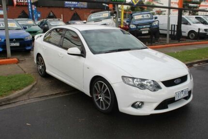2010 Ford Falcon FG XR6T White 6 Speed Auto Seq Sportshift Sedan West Footscray Maribyrnong Area Preview