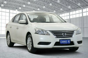 2013 Nissan Pulsar B17 ST White 6 Speed Manual Sedan Victoria Park Victoria Park Area Preview