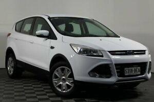 2014 Ford Kuga TF Ambiente AWD White 6 Speed Sports Automatic Wagon Wayville Unley Area Preview