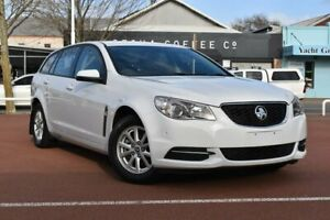 2015 Holden Commodore VF II MY16 Evoke Sportwagon White 6 Speed Sports Automatic Wagon Fremantle Fremantle Area Preview